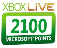 Xbox Live 2100 Points