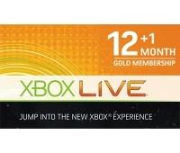 Xbox Live 12 + 1 Månad
