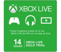 Xbox Live 14 Dagar Guld Trial