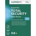 Kaspersky Total Security 2018, 3 Enheter, 1 År