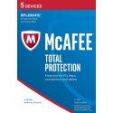 McAfee Total Protection 2019 - 5 Enheter, 1 Års Licens