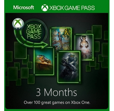 Xbox Game Pass 3 Månader