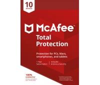McAfee Total Protection 2020 - 10 Enheter, 1 Års Licens