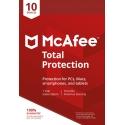 McAfee Total Protection 2021 - 10 Enheter, 1 Års Licens