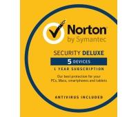 Norton Security 2021, 5 Enheter, 1 Års Licens