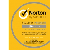 Norton Security 2021 Sve, 10 Devices, 1 Års Licens