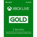 Xbox Live 3 Månader Guld