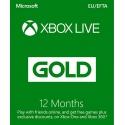 Xbox Live 12 Månader Guld